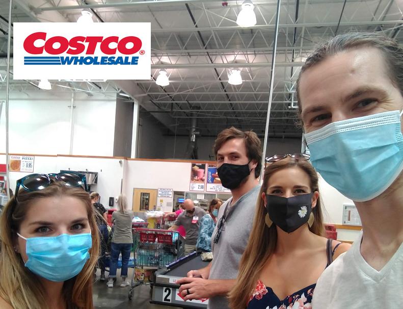 Visiting Costco